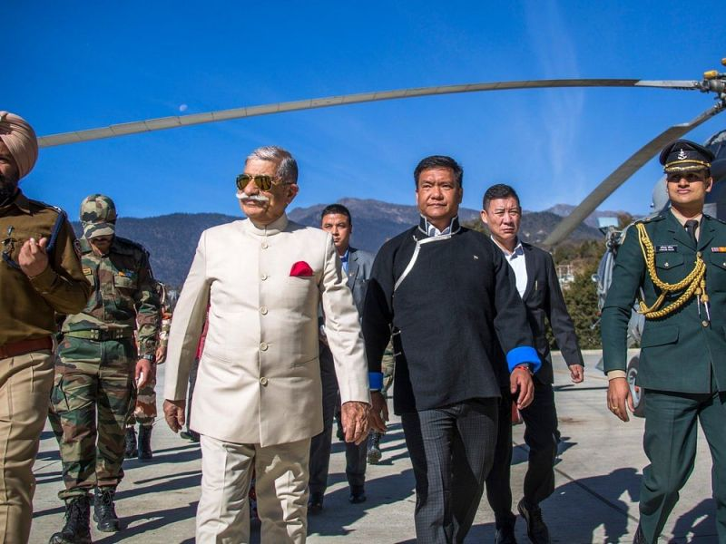 Arunachal governor given additional charge of Mizoram