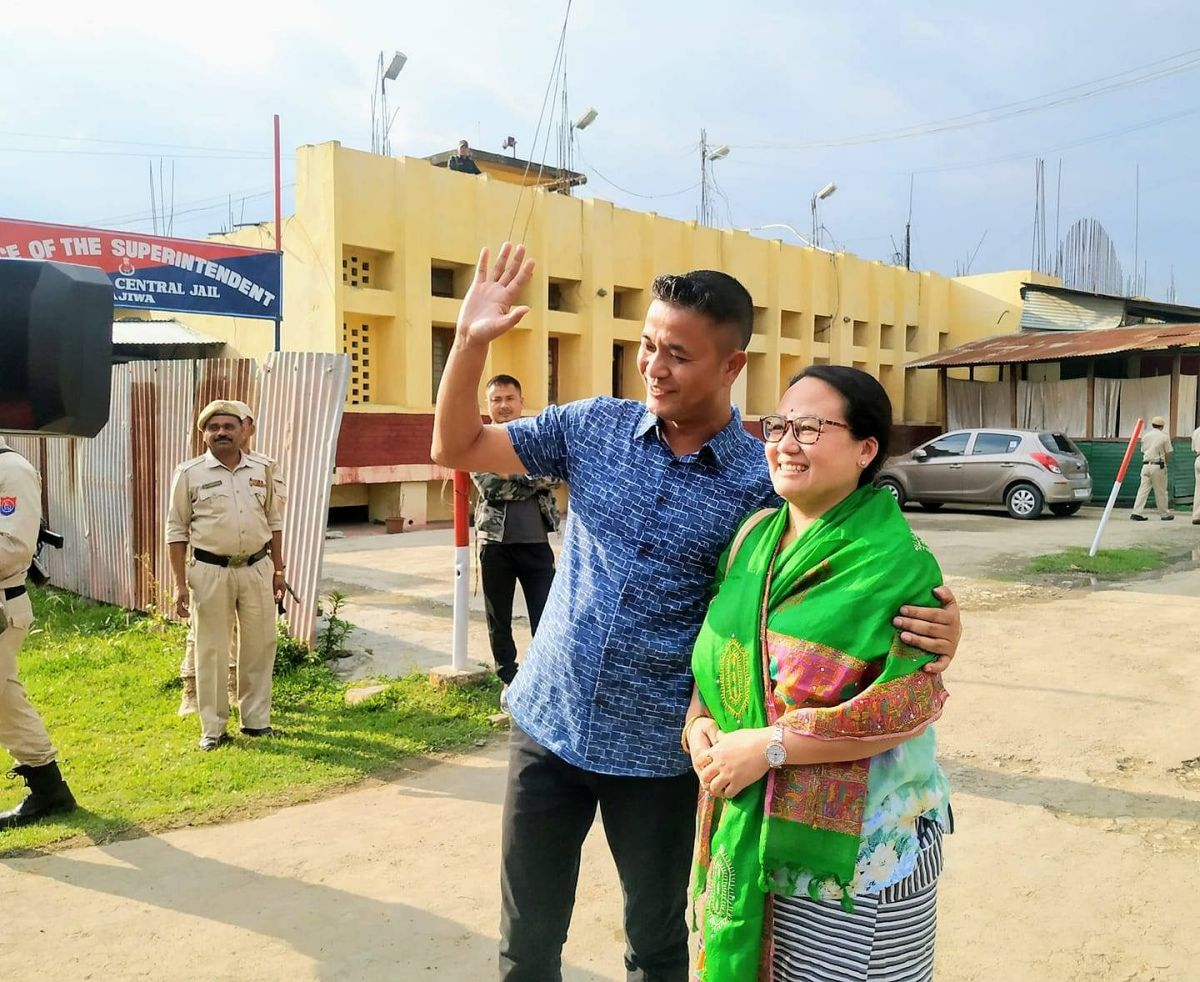 Manipur-based journalist Kishorechandra Wangkhem