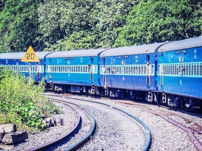 In a first, parcel train with electric locomotive arrives in Guwahati's Kamakhya Railway station