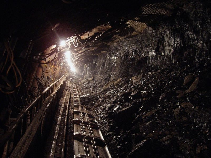 Meghalay coal mine