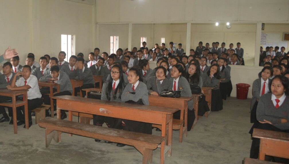 Written consent of parents or guardians for going to school has to be produced by the students on the first day