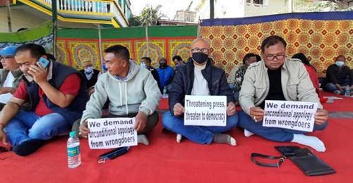 Manipur media 48-hour strike