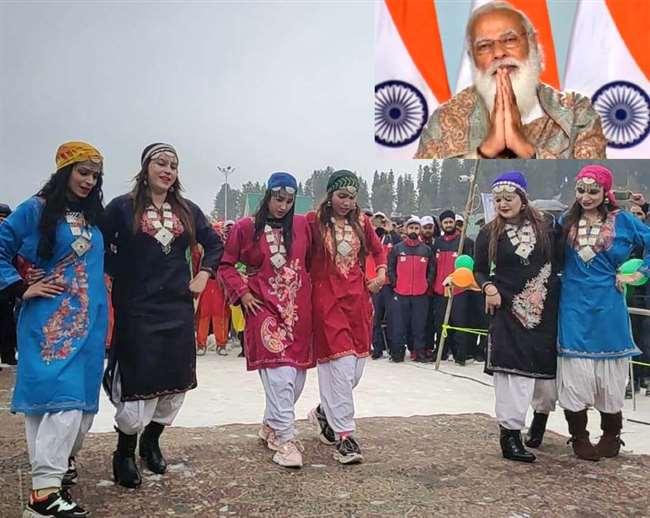 Khelo India Winter Games in Gulmarg, J&K