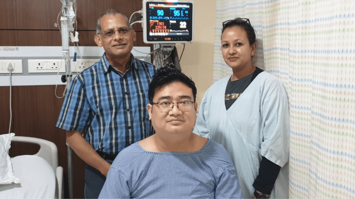 Man from Sikkim gets new lease of life at Excelcare Hospitals