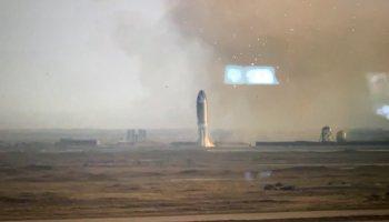 Elon Musk Starship explodes