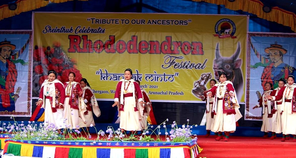 Rhododendron Festival 2021 underway in Arunachal Pradesh