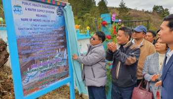 Arunachal: PHE minister inaugurates slew of developmental projects