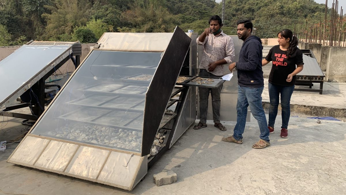 IIT Guwahati's Solar dryer
