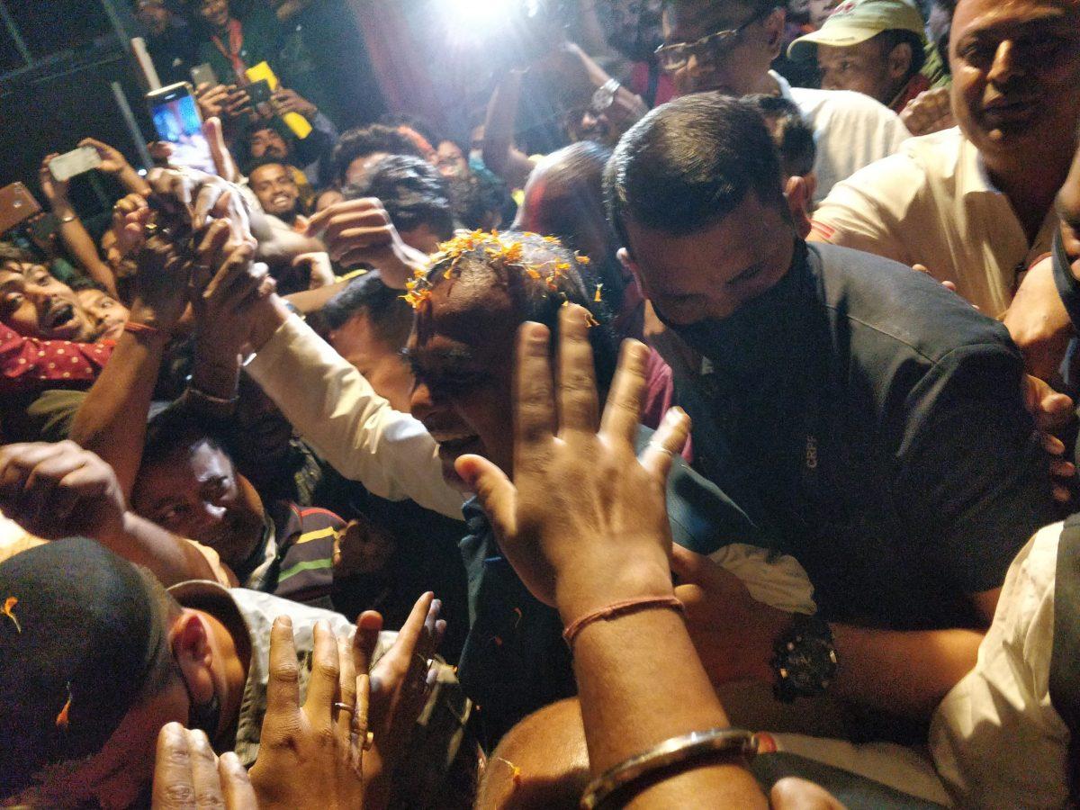 Himanta Biswa Sarma's show of strength rally