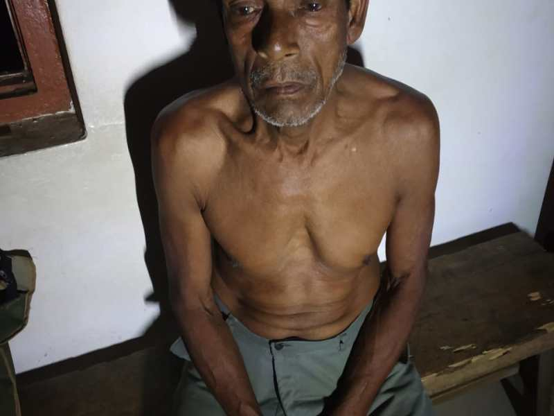 Man, 76, arrested for raping minor in South Tripura