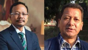 resignation of James sangma