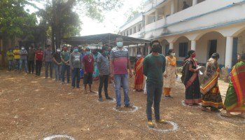 West Bengal poll candidates test positive for COVID-19