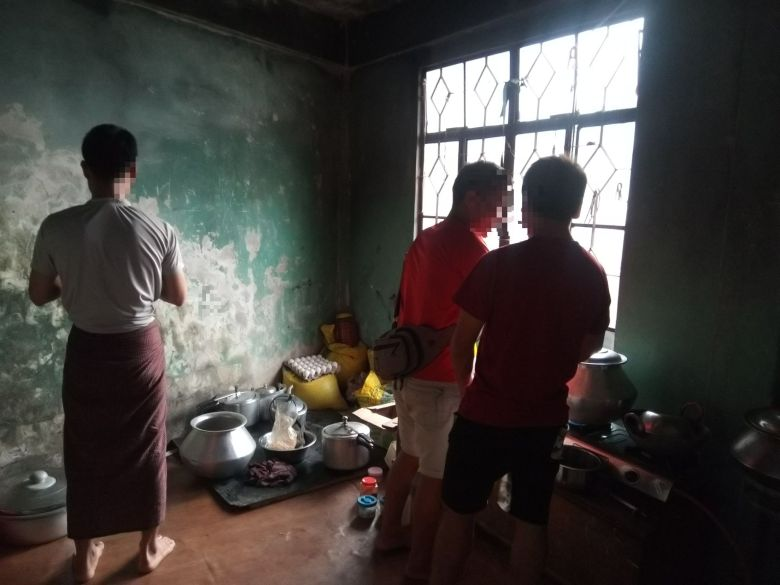 Myanmar refugee in Mizoram