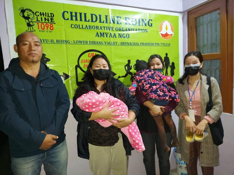 Baby sold in Arunachal rescued