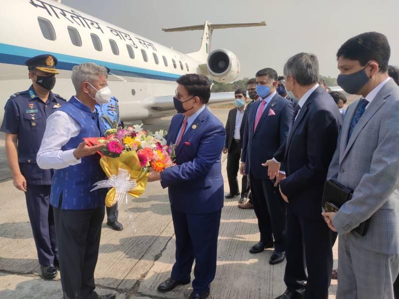 Jaishankar discusses bilateral ties with Bangladesh