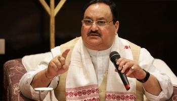 Party President JP Nadda accused the Congress of corruption