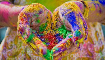 chemical free holi colour