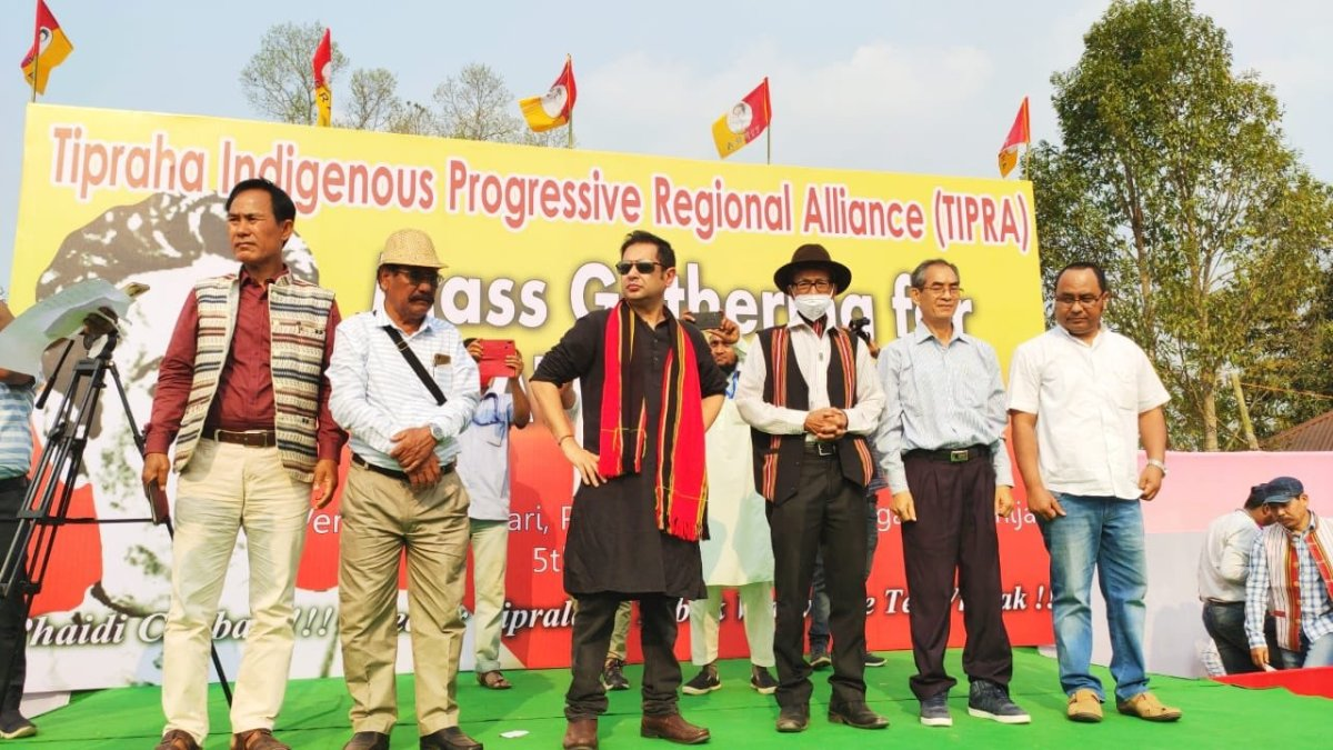 The TTAADC constitutes two third of Tripura's territory and is home to tribals, who form one third of the state's population