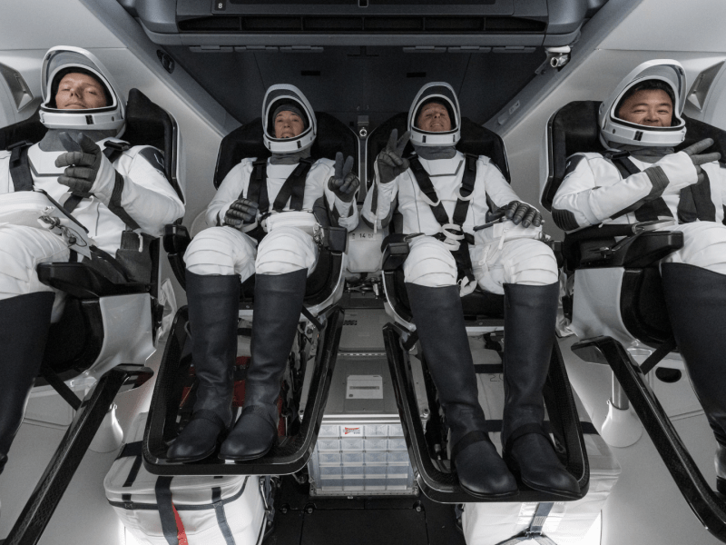SpaceX launches 3rd crew in a year for NASA mission to ISS