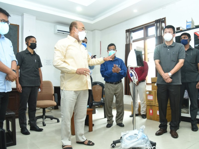 Manipur CM meets experts amidst rise in COVID-19 cases