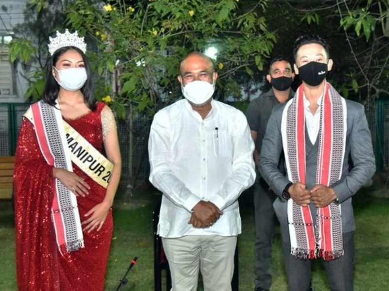 Rubaru Mr India-United Continents Songashim Rungsung felicitated