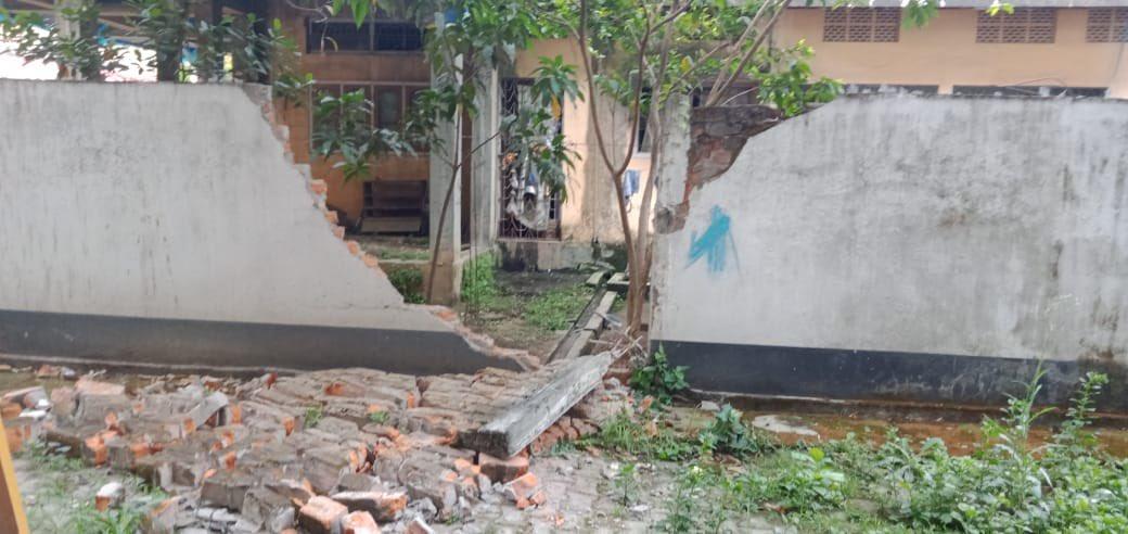 Massive earthquake rocks Assam and other NE states
