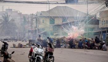 India condemns violence in Myanmar, urges maximum restraint