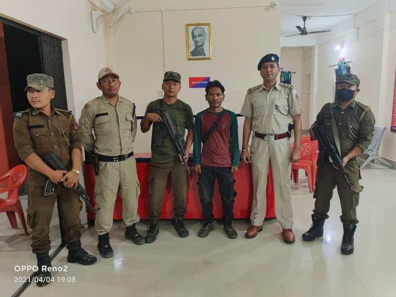 NSCN R cadre arrested