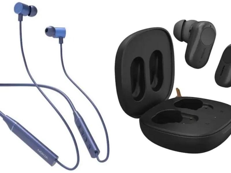 Nokia wireless earbuds Bluetooth neckband