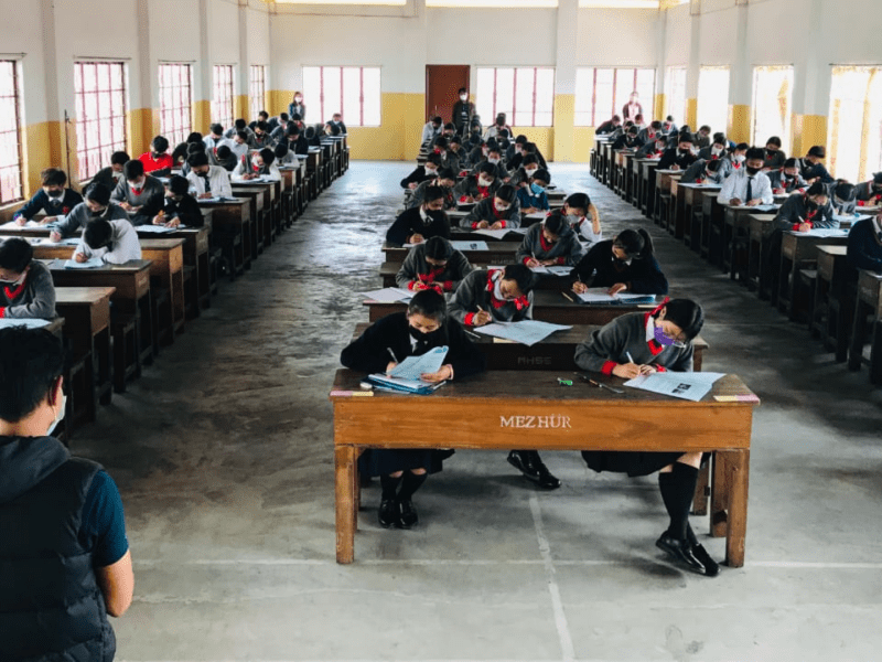 Nagaland: Offline exams begin for Class 10