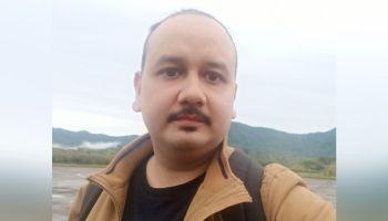 Journalist Aiyushman Dutta