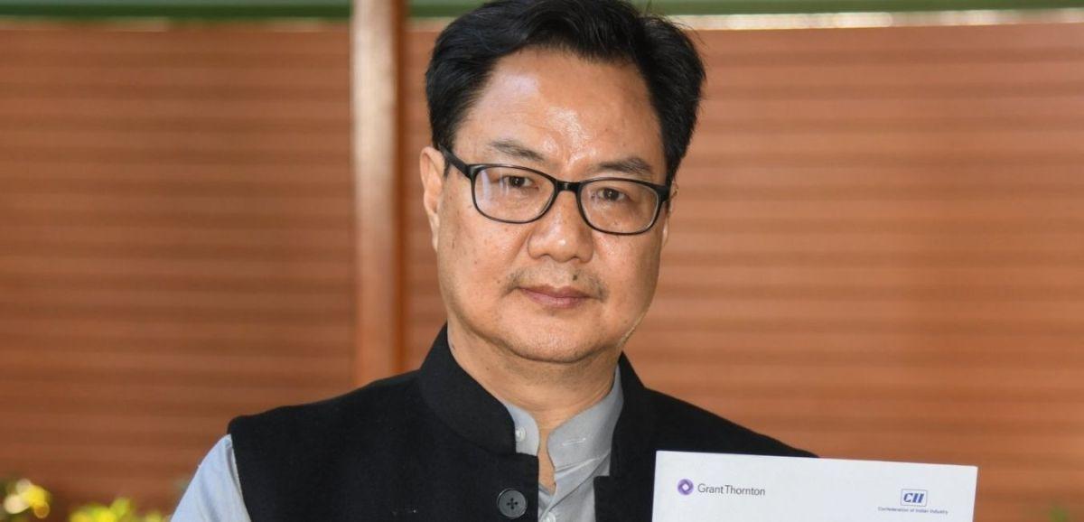 Sports Minister Kiren Rijiju has tested positive for COVID-19