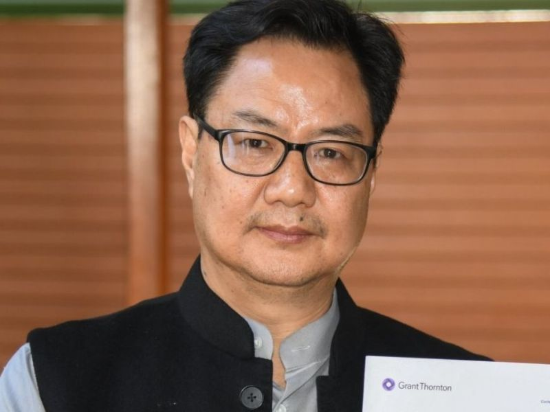 Sports Minister Kiren Rijiju has tested positive for COVID-19