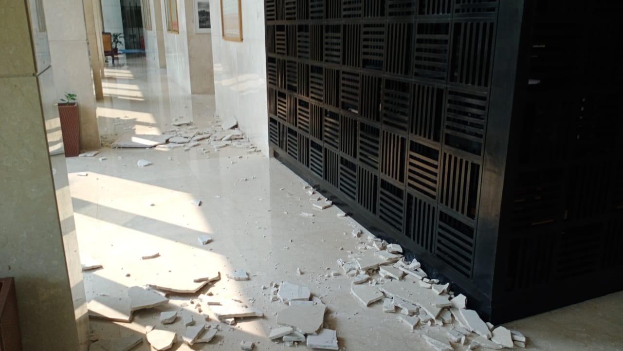 The Assam earthquake