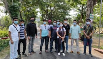 Stranded Assam Students