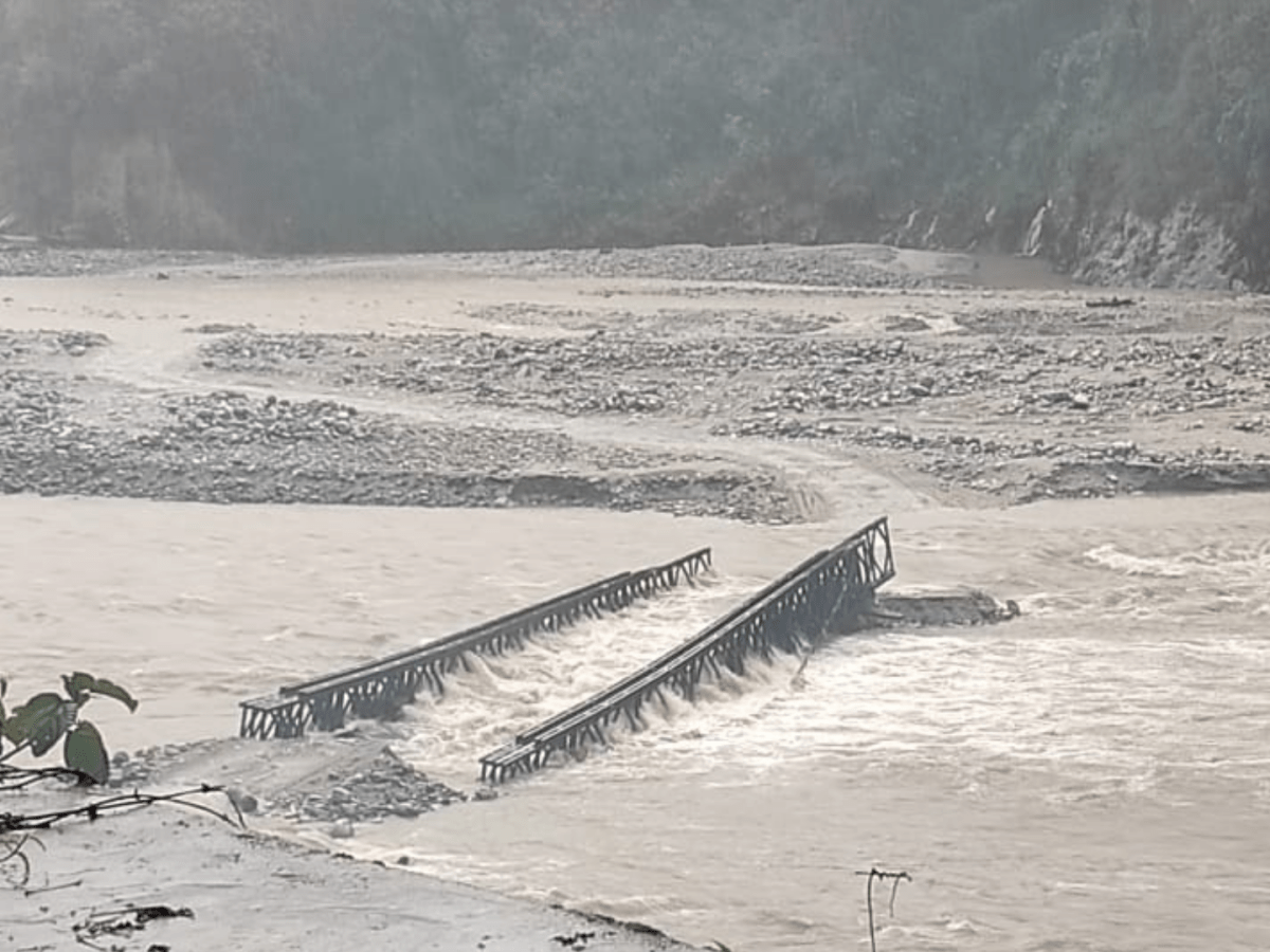 Never-ending woes of Mantam bridge in Dzongu