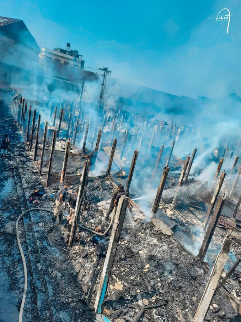 The Chowk Bazaar Tragedy