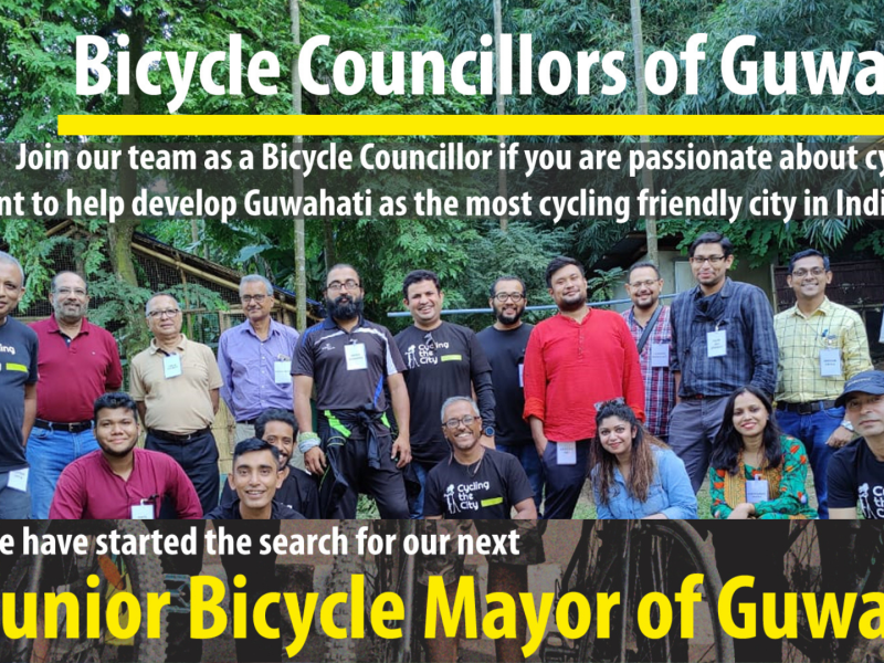 Become a Bicycle Councillor or the next Junior Bicycle Mayor of Guwahati