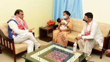 Watch: Kidnapped ONGC employee's family reaches Majuli to meet CM