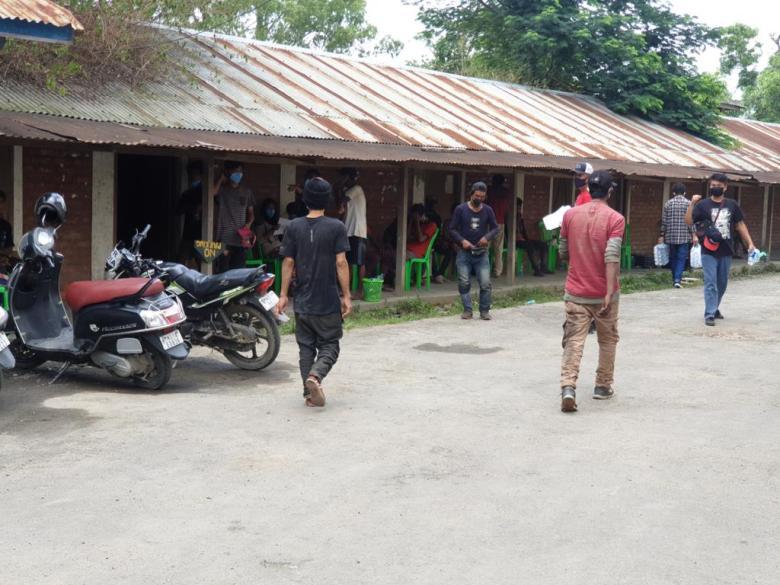Manipur drug users