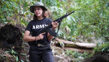 Myanmar: Former Beauty Queen straps up against the junta