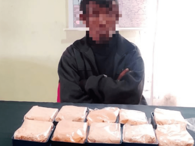 Mizoram: One held with heroin worth Rs 56.40 lakh