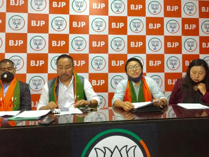 Nagaland BJP backs JP Nadda's letter to Cong leader Sonia Gandhi
