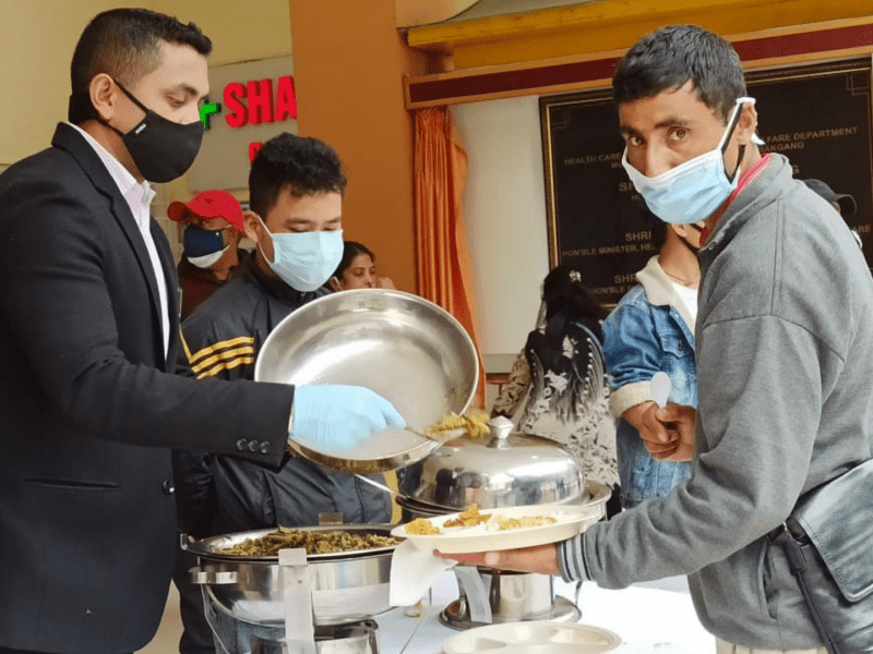 Sikkim: SEED Cell provides free lunch to patients & families at STNM