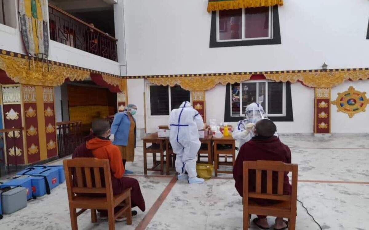 Why are so many monks testing COVID positive in Sikkim?
