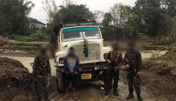 Manipur: Smuggled timber worth over Rs 1.50 cr seized in Thoubal