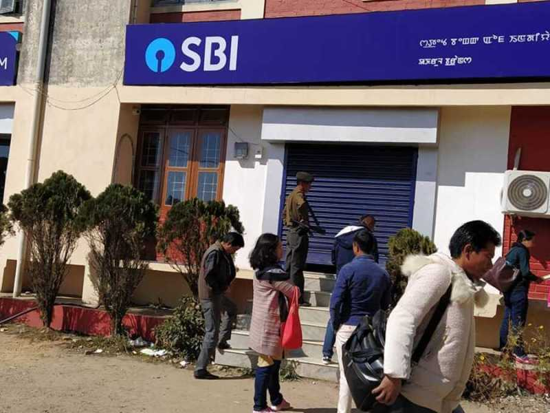 Manipur: SBI Ukhrul branch declared containment zone as staff tests COVID-19 positive