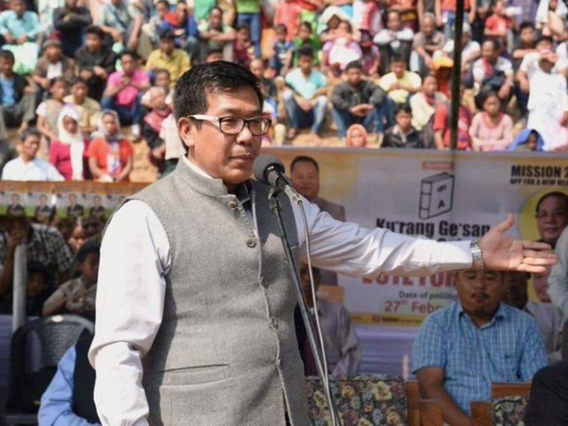 NPP national gen secy Vivek Raj Wangkhem dies of COVID-19 in Delhi