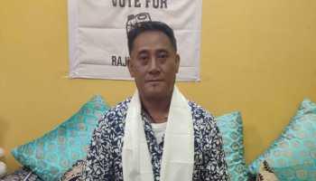 Sikkim councillor Raju Tamang