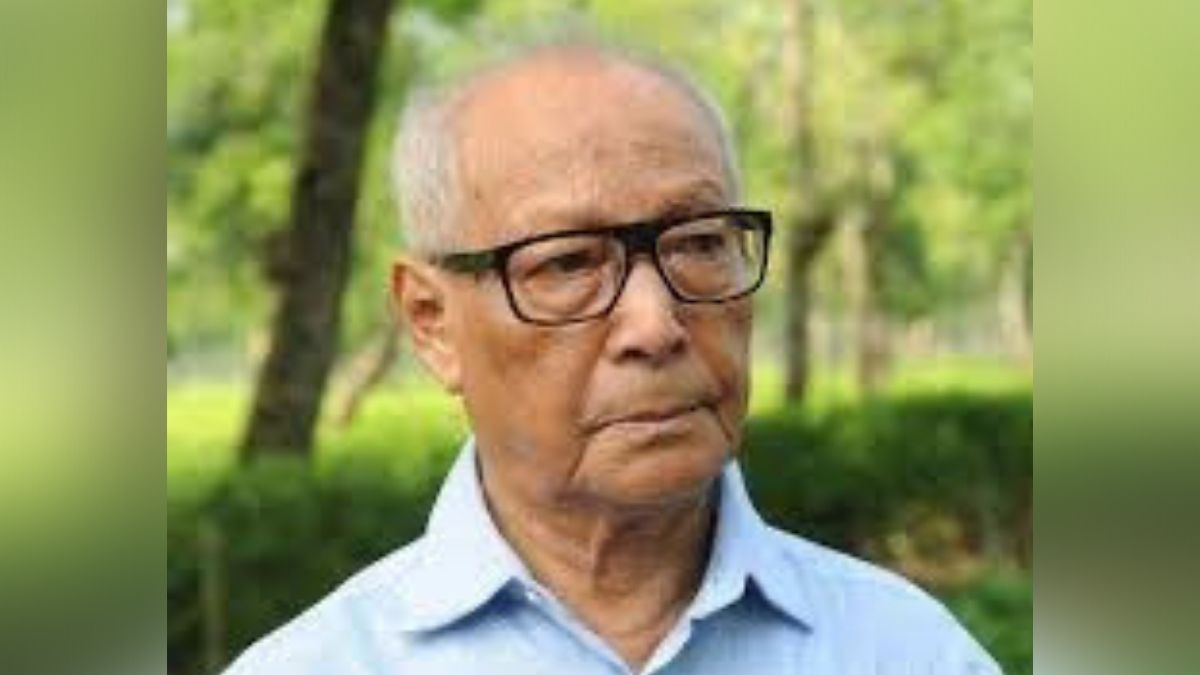Homen Borgohain passed away early Wednesday morning at GNRC hospital